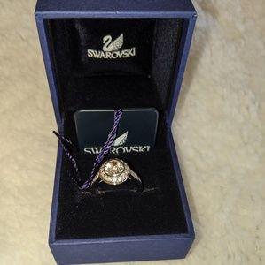 Swarovski Crystal Halo Ring size 5